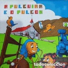 Discos de vinilo: VINILO A PULGUIÑA E O PULGÓN. MANOLO RICO. Lote 235308550