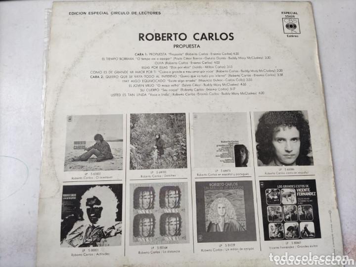 Discos de vinilo: VINILO ROBERTO CARLOS. PROPUESTA. - Foto 2 - 235313695