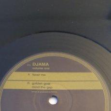 "Discos de vinilo: DJAMA (2) – VOLUME ONE LABEL: GOLD PLATE MUSIC – 013 FORMAT: VINYL, 12"" COUNTRY: GERMANY. Lote 235314490"
