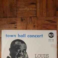 Discos de vinilo: LOUIS ARMSTRONG – TOWN HALL CONCERT LABEL: RCA – 430258 FORMAT: VINYL, LP COUNTRY: FRANCE RELEASED. Lote 235315565