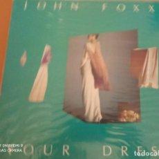 Discos de vinilo: JOHN FOXX YOUR DRESS MAXI VINILO 1983. Lote 235323525