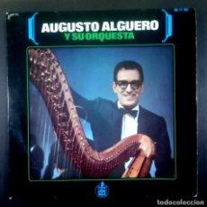 Discos de vinilo: AUGUSTOA ALGUERO Y SU ORQUESTA - CABRIOLA - EP 1966 - HISPAVOX. Lote 235324470