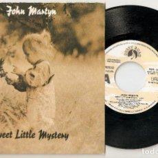"""Discos de vinilo: JOHN MARTYN 7"""" SPAIN 45 SWEET LITTLE MYSTERY 1992 SINGLE VINILO POP ROCK FOLK AVANTGARDE BUEN ESTADO. Lote 235325255"""