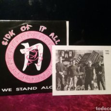 Discos de vinilo: SICK OF IT ALL 1991 EP. IN-EFFECT RECORDS. Lote 235325435