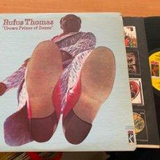 Discos de vinilo: RUFUS THOMAS (CROWN PRINCE OF DANCE) LP 1973 STS-3008 (B-18). Lote 235325835