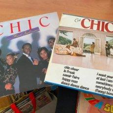 Discos de vinilo: CHIC (C'EST CHIC + REAL PEOPLE) 2 LP 1973 (B-18). Lote 235327015