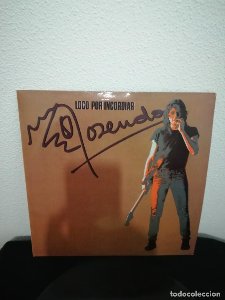 LP ROSENDO - LOCO POR INCORDIAR (LP, ALBUM, RE)BUEN ESTADO (Música - Discos - LP Vinilo - Grupos Españoles de los 70 y 80)