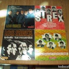 Discos de vinilo: LOTE 4 EPS Y SINGLES SIREX. Lote 235331420