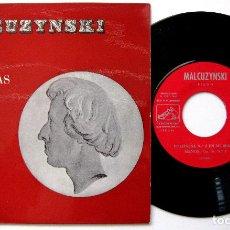 Discos de vinilo: WITOLD MALCUZYNSKI, FRÉDÉRIC CHOPIN - DOS POLONESAS DE CHOPIN - EP 1963 LA VOZ DE SU AMO BPY. Lote 235341200