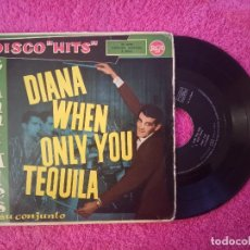 Discos de vinilo: EP GIANNI ALES - DIANA/WHEN/ONLY/YOU TEQUILA - RCA 3-24145 - SPAIN PRESS (VG+/VG++). Lote 235351690