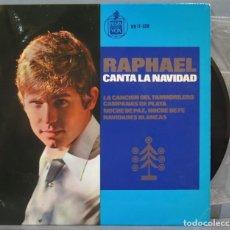 Discos de vinilo: EP. RAPHAEL CANTA LA NAVIDAD. Lote 235360025