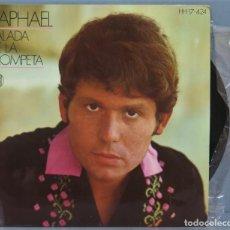 Discos de vinilo: EP. RAPHAEL. BALADA DE LA TROMPETA. Lote 235366100