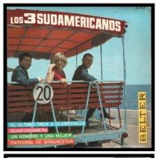 Discos de vinilo: XX SINGLE, LOS 3 SUDAMERICANOS, GUANTANAMERA, CATEDRAL DE WINCHESTER, UN HOMBRE Y UNA MUJER Y DEMAS.. Lote 235371675