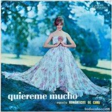 Discos de vinilo: ORQUESTRA ROMANTICOS DE CUBA - QUIEREME MUCHO - LP BRAZIL - MUSIDISC - 2.032. Lote 235378600
