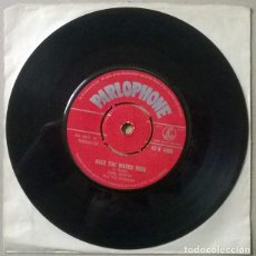 Disques de vinyle: EARL BOSTIC. OVER THE WAVES ROCK/ TWILIGHT TIME. PARLOPHONE, UK 1956 SINGLE. Lote 235379205