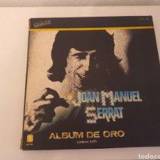 Discos de vinilo: DISCOS ALBUM DE ORO JOAN MANUEL SERRAT. Lote 235385970