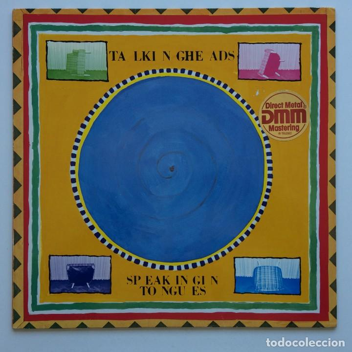 TALKING HEADS – SPEAKING IN TONGUES SCANDINAVIA,1983 SIRE (Música - Discos - LP Vinilo - Pop - Rock - New Wave Internacional de los 80)