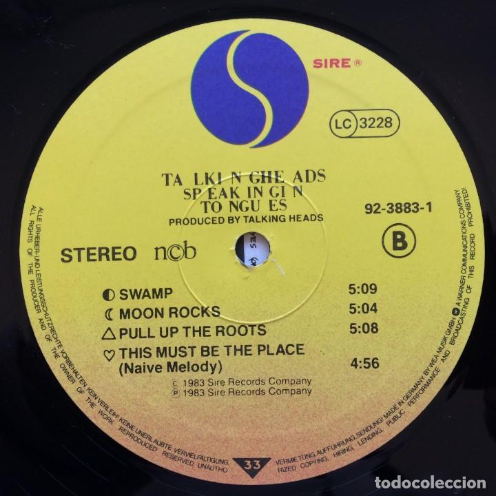 Discos de vinilo: Talking Heads – Speaking In Tongues Scandinavia,1983 Sire - Foto 5 - 235386880