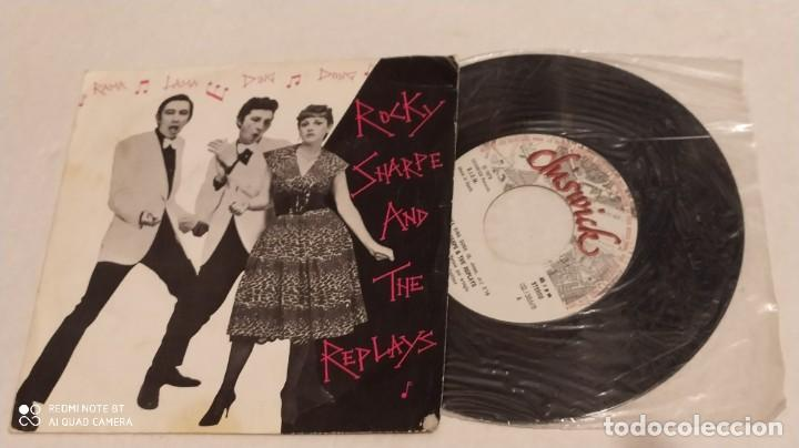 SINGLE THE ROCKY SHARPE AND THE REPLAYS - RAMA LAMA DING DONG - CHISWICK 1978 (Música - Discos - Singles Vinilo - Pop - Rock - Extranjero de los 70)