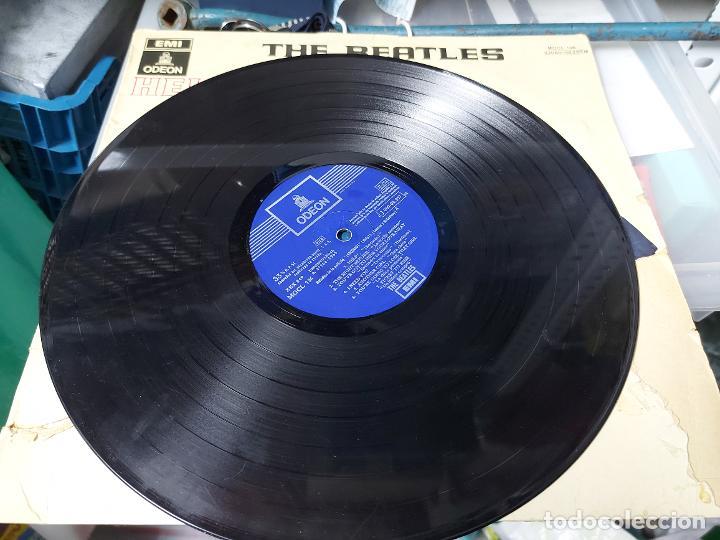Discos de vinilo: ANTIGUO DISCO DE VINILO - THE BEATLES - HELP - EMI ODEON - MOCL 136 1J060-04.257M - 1965 - TAL Y COM - Foto 2 - 13372851