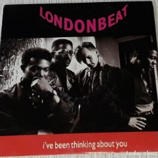 Discos de vinilo: SINGLE - LONDONBEAT - I'VE BEEN THINKING ABOUT YOU / 9AM ( LIVE AT MOLES ) - MADE IN SPAIN. Lote 235401685