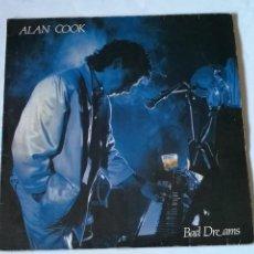 Discos de vinilo: ALAN COOK - BAD DREAMS - 1986. Lote 235416855