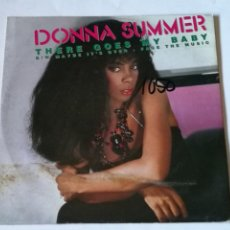 Discos de vinilo: DONNA SUMMER - THERE GOES MY BABY - 1984. Lote 235418540
