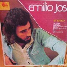 Discos de vinilo: LP DE USA EMILIO JOSE MI BARCA - SOLEDAD - EL PAYASO - ERA RUBIA COMO EL TRIGO -. Lote 235420200