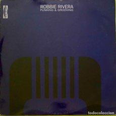 Discos de vinilo: ROBBIE RIVERA. FUNKING & GROOVING. MAXISINGLE ESPAÑA 3 TEMAS. Lote 235433920