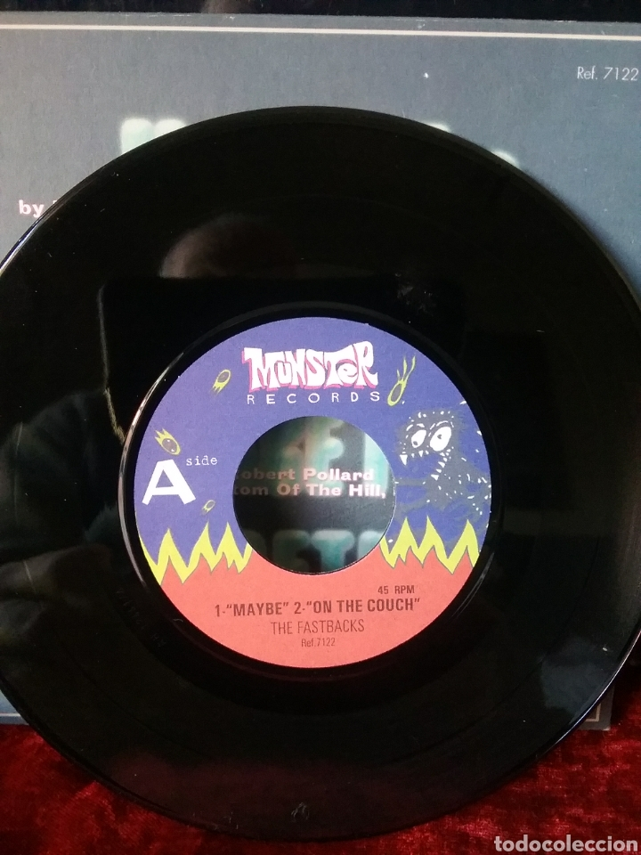 Discos de vinilo: FASTBACKS 1992 MUNSTER RECORDS EP. - Foto 3 - 235460510