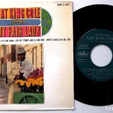 Discos de vinilo: NAT KING COLE - SINGS MY FAIR LADY - EP CAPITOL 1964 BPY NUEVO IMPECABLE. Lote 235460725