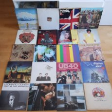 Discos de vinil: THE BEATLES UB 40 KISS PINK FLOYD QUEEN Y MAS LOTE DE 20 LPS LPS. Lote 235468630