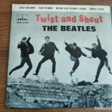 Discos de vinilo: THE BEATLES - TWIST AND SHOUT ***********EP ESPAÑOL 1963 GRAN ESTADO!. Lote 235478145