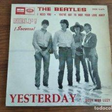 Discos de vinilo: THE BEATLES - HELP! ***********EP ESPAÑOL 1965 GRAN ESTADO!. Lote 235478385