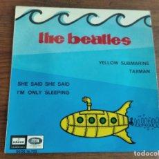 Discos de vinilo: THE BEATLES - YELLOW SUBMARINE ********** EP ESPAÑOL 1966 GRAN ESTADO!. Lote 235478580