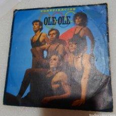 Discos de vinilo: OLE-OLE - CONSPIRACIÓN. Lote 235481380