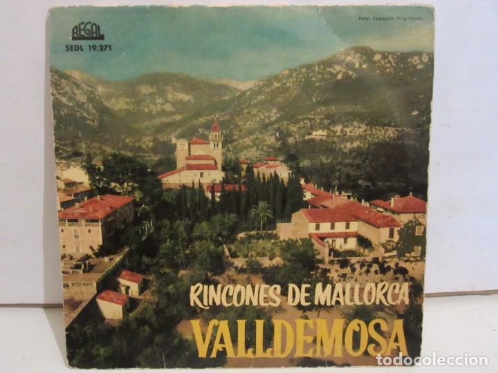 VALLDEMOSA - RINCONES DE MALLORCA - 4 TEMAS - EP - 1961 - REGAL - SPAIN - VG+/VG (Música - Discos de Vinilo - EPs - Country y Folk)
