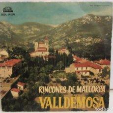 Discos de vinilo: VALLDEMOSA - RINCONES DE MALLORCA - 4 TEMAS - EP - 1961 - REGAL - SPAIN - VG+/VG. Lote 235490960