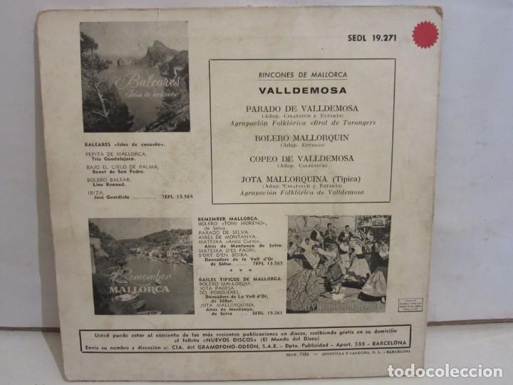 Discos de vinilo: Valldemosa - Rincones De Mallorca - 4 Temas - EP - 1961 - Regal - Spain - VG+/VG - Foto 2 - 235490960