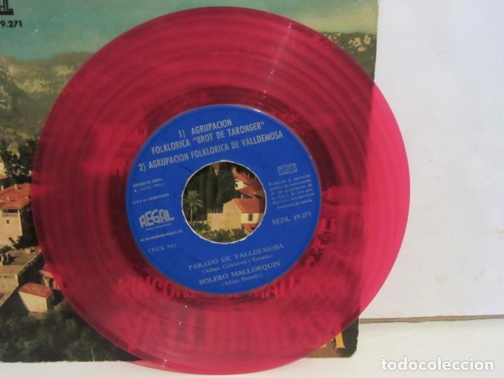 Discos de vinilo: Valldemosa - Rincones De Mallorca - 4 Temas - EP - 1961 - Regal - Spain - VG+/VG - Foto 3 - 235490960