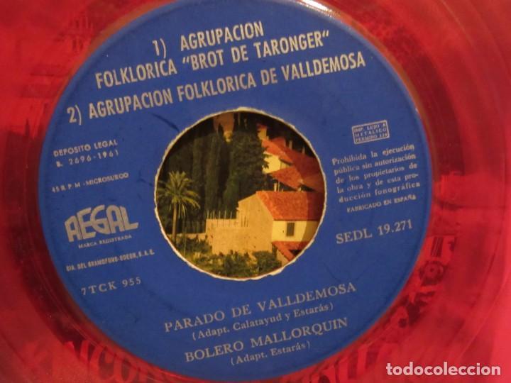 Discos de vinilo: Valldemosa - Rincones De Mallorca - 4 Temas - EP - 1961 - Regal - Spain - VG+/VG - Foto 4 - 235490960