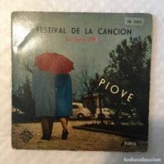 Discos de vinilo: EP FESTIVAL DE LA CANCION SAN REMO 1959 - TELEFUNKEN FONIT TFK51055. Lote 235492950