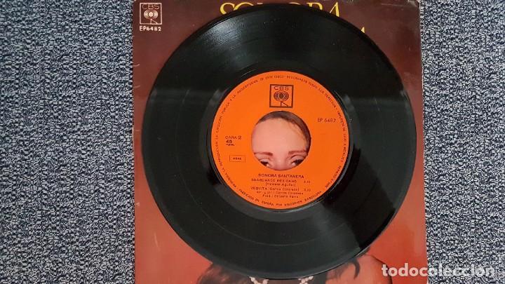 Discos de vinilo: Sonora Santanera - E.P (4 canciones) Musita,A Veracruz,+2. Año 1.968. Editado por CBS - Foto 4 - 235502775