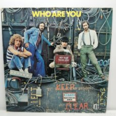 Discos de vinil: THE WHO, WHO ARE YOU (POLYDOR RE FRANCE). Lote 235521340