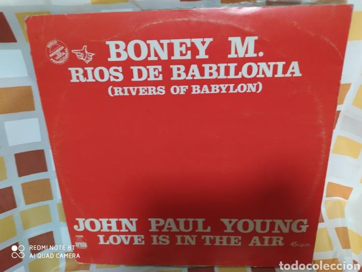 BONEY M./JOHN PAUL YOUNG/ERUPTION (4)/AMANDA LEAR–RÍOS DE BABILONIA - MAXI VINILO - 1978 - (Música - Discos de Vinilo - Maxi Singles - Funk, Soul y Black Music)