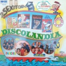 Dischi in vinile: LIQUIDACION LP EN PERFECTO ESTADO - DISCOLANDIA 25 EXITOS (1979). Lote 235526535