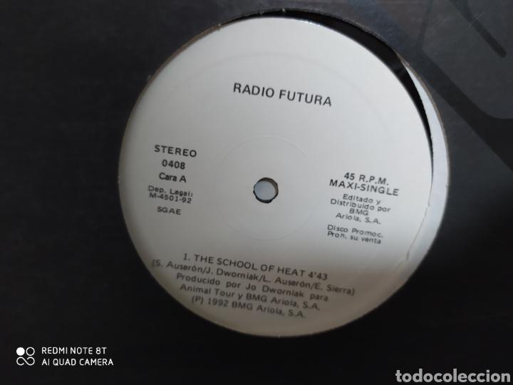 RADIO FUTURA - THE SCHOOL OF HEAT. MAXI VINILO. EDICIÓN ESPECIAL PARA DISCOTECAS 1992 - BUEN ESTADO (Música - Discos de Vinilo - Maxi Singles - Grupos Españoles de los 70 y 80)