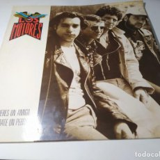 Disques de vinyle: LP - LOS MOTORES – SI QUIERES UN AMIGO COMPRATE UN PERRO - 4D0842( VG+ / G+) SPAIN 1991. Lote 235531405