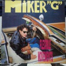 """Discos de vinilo: MIKER """"G"""" - FLEXIBLE MOVEMENTS - SPAIN. Lote 235544925"""