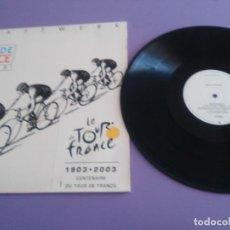 Discos de vinilo: MAXI EP KRAFTWERK - TOUR DE FRANCE 2003 / ORIGIGINAL 12EM 626 . EMI RECORDS MADE IN EU.. Lote 235549300
